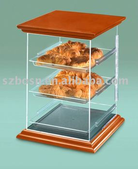 Acrylic Bakery Case,Perspex Cake Display Box,Plexiglass Bread Cabinet