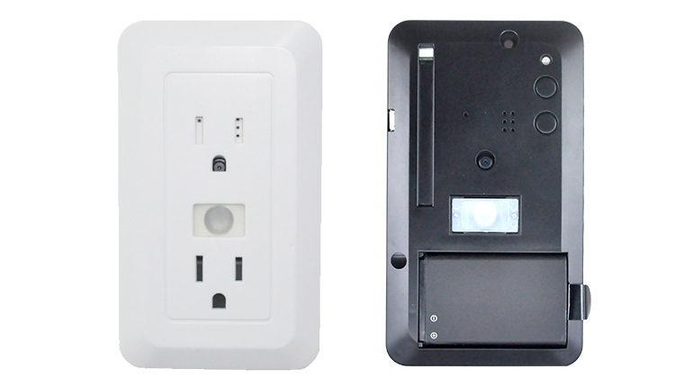 cctv camera system 8gb memory card video recording wireless outlet hidden spy camera.jpg