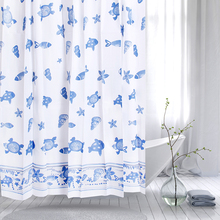 PEVA color changing shower curtain