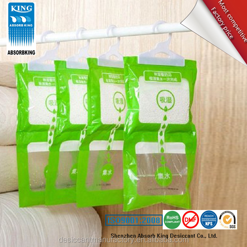Wardrobe Household Desiccant Dehumidifier Bag Moisture Absorber bags