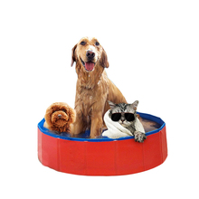 Cool Summer Funny Pet Bath Pool,foldable Pet Swimming Pool,PVC Foldable Large Inflatable Dog Swimming Pool