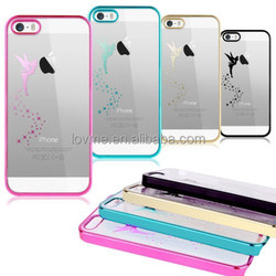 Cute Clear Back Silicon Bumper Case For iPhone 6 4.7 inch