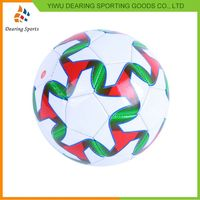 New selling attractive style custom promotional soccer ball wholesale