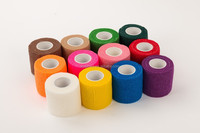 Sporting goods non-woven self-adhesive elastic bandage