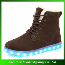 Cheap Wholesale Custom Design Women LED Snow Boots for New Year