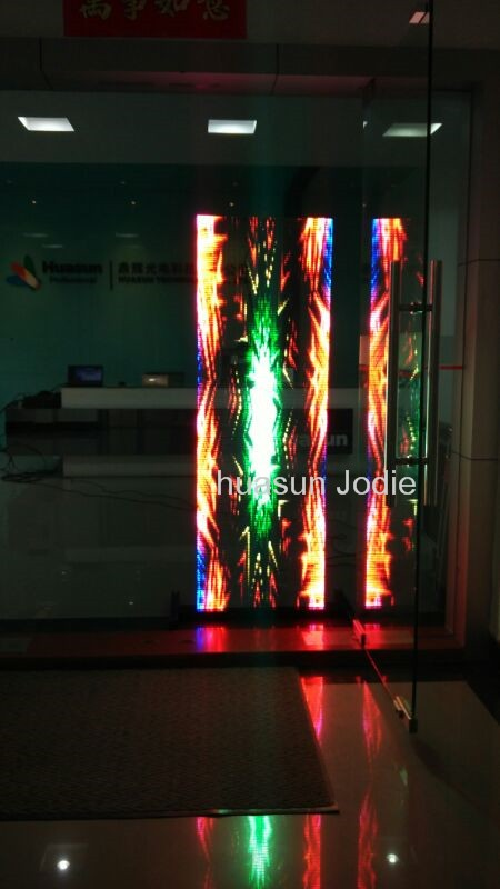 Trans-eyes P6 Transparent LED Screen For Windows Advertising