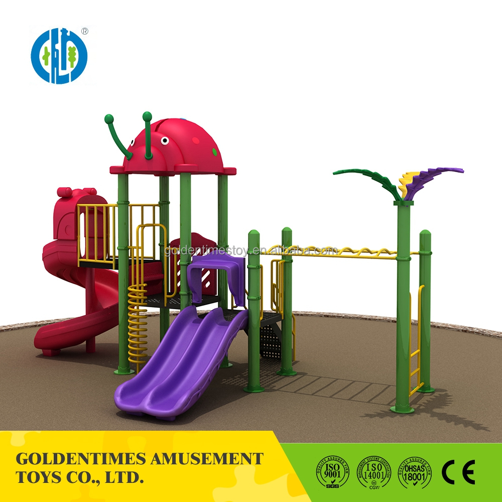 Large plastic exercise amusement park outdoor playground equipment for kids