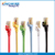 Cat7 Ethernet Flat Patch Network Cable Shielded Gold Plated 10Gbps 600Mhz