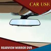 Rear Mirror DVR /car rearview mirror camera dvr / car multi camera dvr