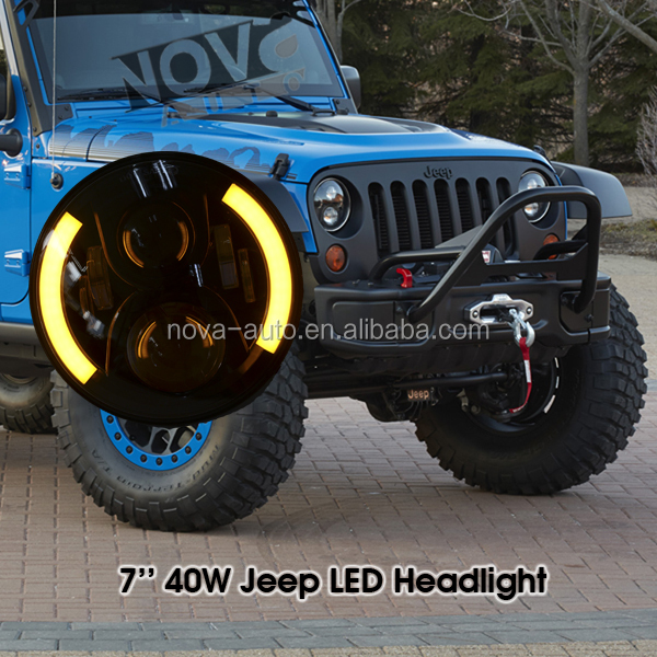 Car Accessory Led Automotive Headlights for Jeep and Other Cars