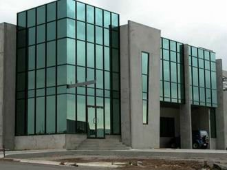 Exterior Structural Aluminium Glass Panel Wall For
