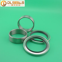 85*110*10 mm Dual Lip PTFE Oil Seals with 75*85*28mm Bushing (Screw Air Compressor Shaft Seals kits)