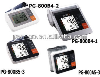 Portable Upper arm full digital blood pressure monitor PG-800B25