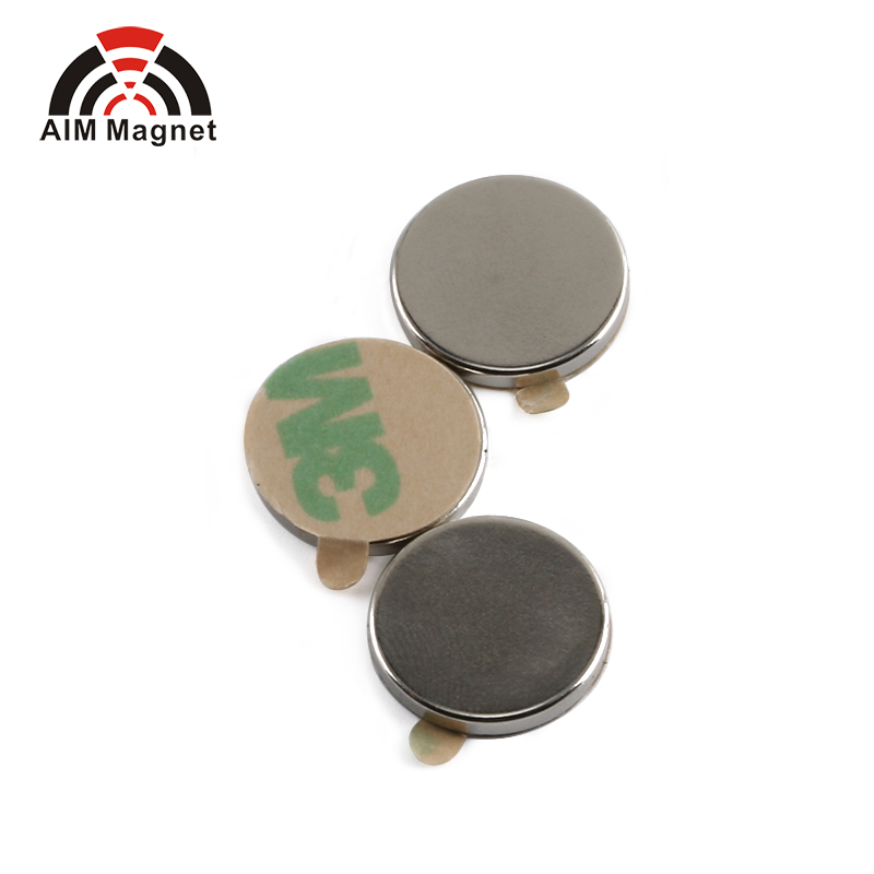 N42 Strongest Permanent Disc 3M Adhesive 7x 2mm Neodymium Magnet For Hot Sales