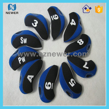 Promotional OEM cheap price waterproof premium neoprene golf club iron cover