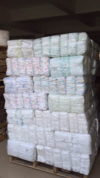 Hot selling baby diaper surplus, stocklots baby diaper, baby diaper over stock