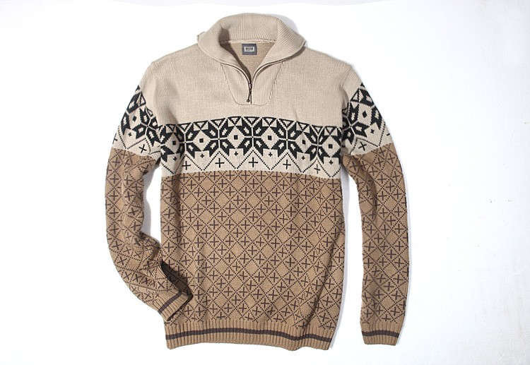 Fashion european style knit sweaters for men