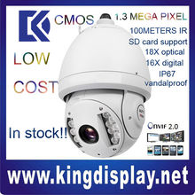 SD6980C-HN Wholesale dahua ip camera 1.3M Pixel 720P PTZ 100 meter IR outdoor high speed onvif2.0 sd card