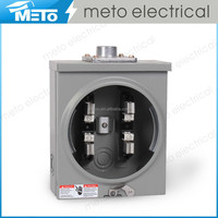100A Single Phase Square Electric Meter Socket/Meter Base