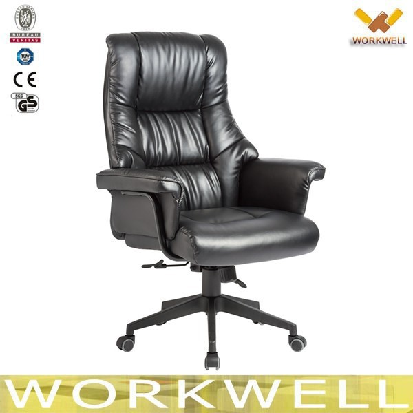 workwell best luxury leather high back executive office chair kw m7302