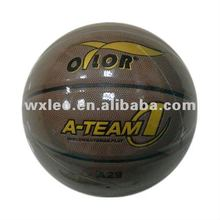 Match quality laminated PU basketball,basketball for competition,hot promotional basketball