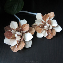 Artificial Handmade Sola Wood Aroma Diffuser Flower