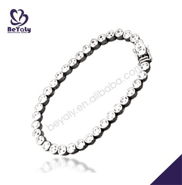 Esthetical cz set handcrafted silver premier designs bracelet jewelry