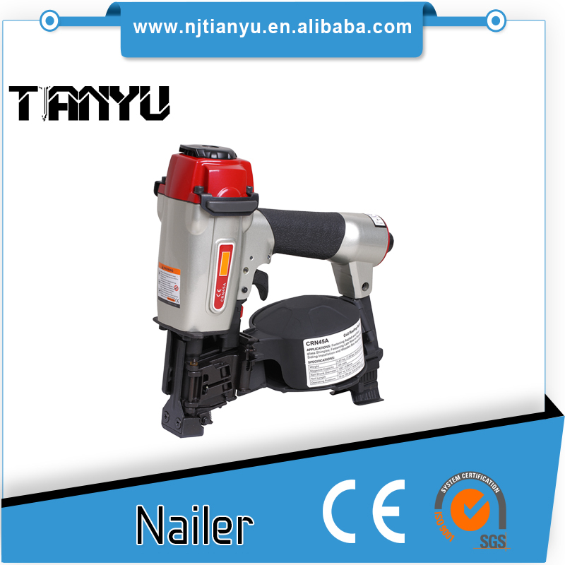Pneumatic Coil Nails Gun CRN45A Manufacturer