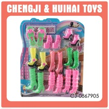 New arrival plastic doll shoes wholesale for fashion doll