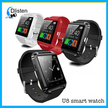2018 new smart BIuetooth anti lost smart bracelet watch for smartphone and sport water resistant BIuetooth smart u8 watch