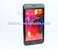 5.3 Inch Smartphone Android 4.0 MTK6577 CPU 1.2GHz Dual Core 3G WCDMA Dual Camera