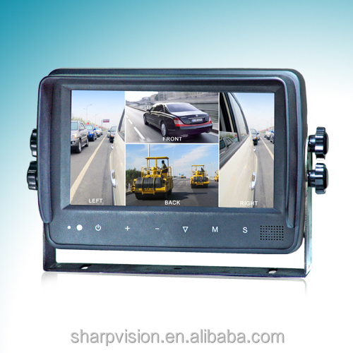 7 inches Digital Quad Waterproof Monitor MO140