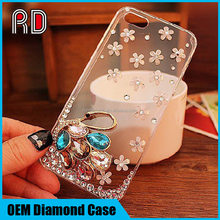 New Luxurious Design Crystal Rhinestone Diamond Mobile Phone Case Cover for samsung note5