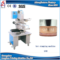 New Type 2015 Small Printing Equipment Flat and Curved Hot Heat Press Stamping Machine For Sale