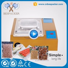 Economy table type vacuum food tin can sealing machine