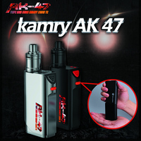 China supplier kamry AK47 200w TC new products electronic cigarette mods gun style 4500mah