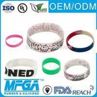 silicone rubber tire wrist band