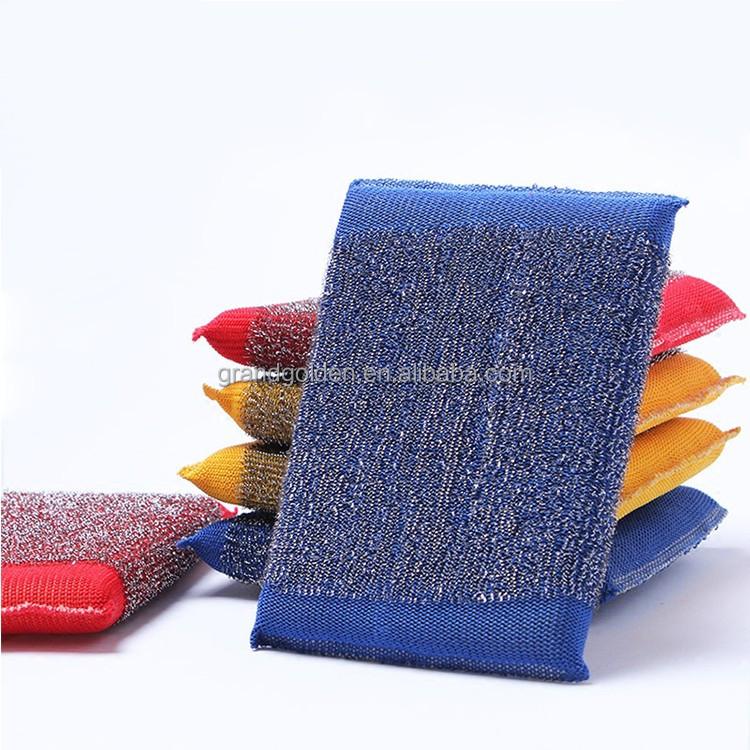 Stainless Steel Kitchen Cleaning Sponge Scourer