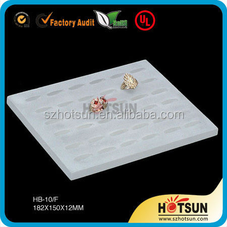 High-end jewelry and jade article display props Display shelf The tray jewelry aircraft jade bracelet