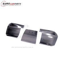 R8 diffuser fit for AD R8 all year to LB style carbon fiber material 3pieces diffuser for R8 rear diffuser