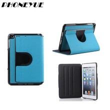 Newest Design Cowboy Grain Stand Tablet Cover PU Leather Cover Case For iPad Mini 2/3/4