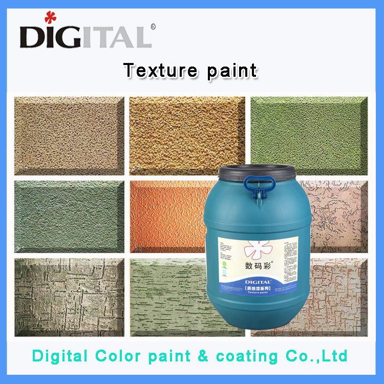 Exterior granite imitation effect wall texture paint