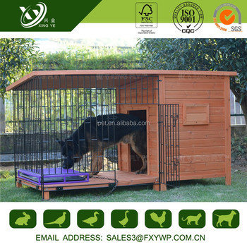 Factory price firm high quality outdoor dog houses for sale