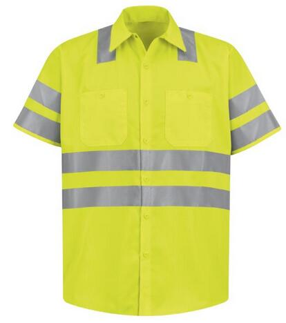 Australian Market model reflective working man shirt