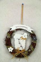 cartoon sheep,hanging branch easter gift decoration