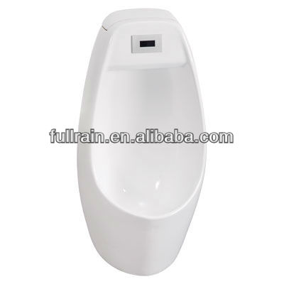 Fullrain Wall Mounted Ground-Drainage Man Urinal with Sensor Fittings Inside