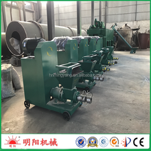 Hexagon shape rice hull extruder wood briquette machine