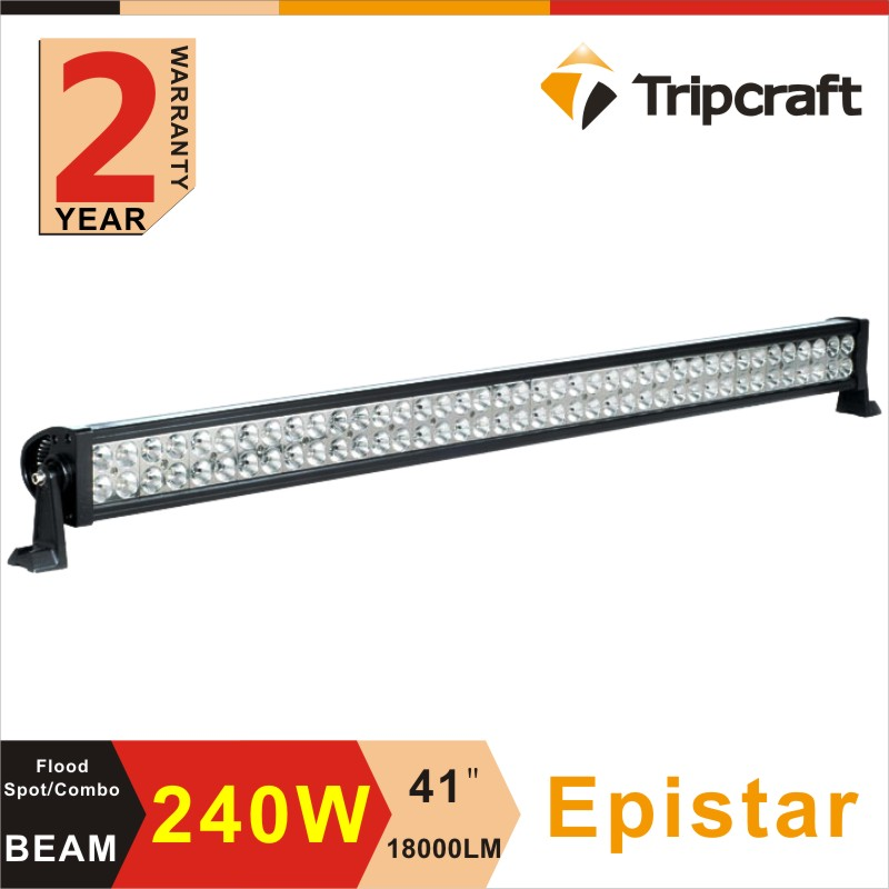 Factory direct 240w 42 inch dual row lowest price led light bar with CE RoHS IP67