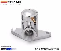 AUTOFAB-New Design Universal Turbo Internal Wastegate Actuator Blow Off Valve For Subaru WRX (color Silver)EP-BOV1006WRXT-SL