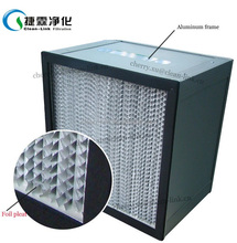 H13 Deep Pleated HEPA Filters for Air-Condition Filtration System